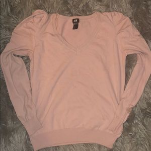 Sweaters - Medium pink h&m sweater
